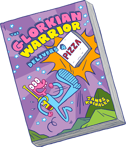 Glorkian Warrior Delivers a Pizza Graphic Novel